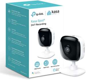 TP-LINK Kasa Spot KC105 Full HD 1080p WiFi Security Camera £24.99 (Free Delivery / Collection) @ Currys PC World