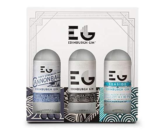 Edinburgh Gin Triple Gin Gift Set - 3x 20cl - £14.27 (+£4.49 non Prime) at Amazon