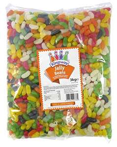 Jelly Beans 1 Kilo Bag - £4.99 delivered @ Amazon / Dispatched from and sold by Monmore Confectionery