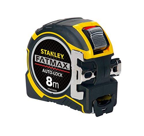 STANLEY FATMAX Tape Measure, 8m Autolock version, metric - £10.72 (+£4.49 non-Prime del) @ Amazon