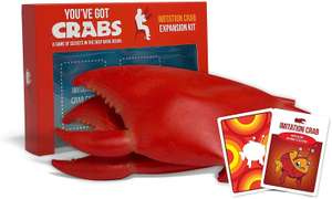 Exploding Kittens: You've Got Crabs: Imitation Crab Expansion Pack - Family Card Game £5.05 (+£4.49 Non Prime) at Amazon