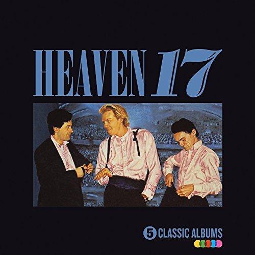 Heaven 17 - 5 Classic Albums CD Boxset (Penthouse and Pavement /The Luxury Gap / How Men Are / Pleasure One ..) £10.52 @ Rarewaves