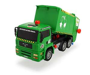 Dickie Air Pump Recycle/Garbage Truck Toy £7.46 (+£4.49 Non Prime) at Amazon