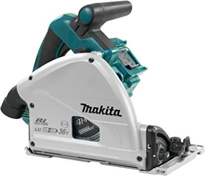 Makita DSP600ZJ BL LXT Plunge Saw-Multicolour, 36 V, 230 mm - £264.94 @ Amazon