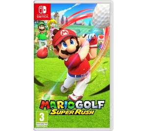 Mario Golf: Super Rush -Nintendo Switch - Preorder £39.99 with code @ Currys PC World