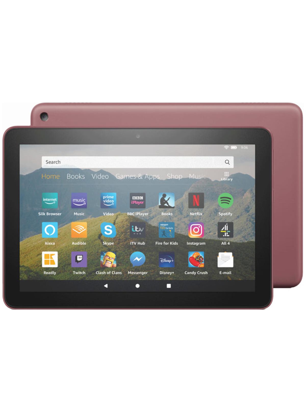 Amazon Fire HD 8″ 32GB Wifi Tablet – Plum - £60 @ ElekDirect