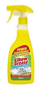 ELBOW GREASE ® ALL PURPOSE DEGREASER 500ml - £1 In stock on June 7, 2021. + £4.49 NP @ Amazon