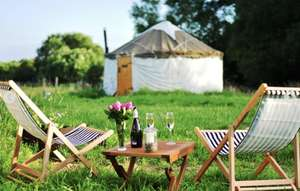 2 night glamping for 2 (various locations) - £76.24 with code @ BuyAGift