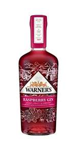 Warner's Distillery Edwards Gin - Raspberry Gin, 40% Vol - 70cl Bottle - £22.14 @ Amazon