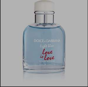 Dolce and Gabbana Light blue Love is Love pour homme 75ml £20 @ Boots
