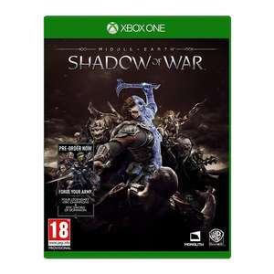 Middle Earth Shadow of War (Xbox One) - £2.31 delivered @ 365games