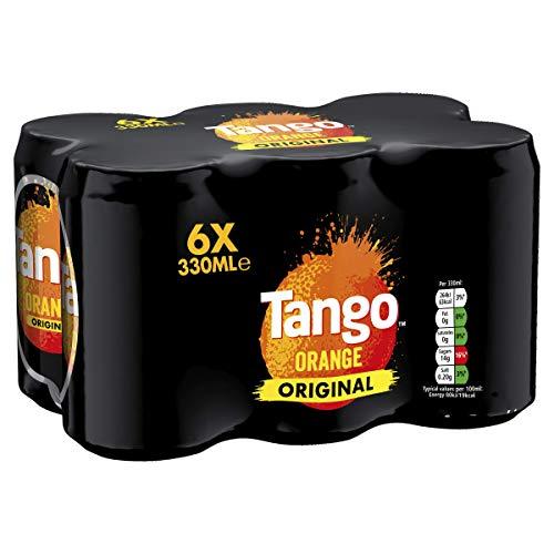 Tango Orange Soft Drink, 6x330ml - £1.86 Prime + £4.49 NP @ Amazon