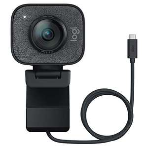 Logitech StreamCam Webcam, Full 1080p HD 60fps with Vertical Video, Smart auto focus and exposure & Dual camera-mount - £96.68 @ Amazon