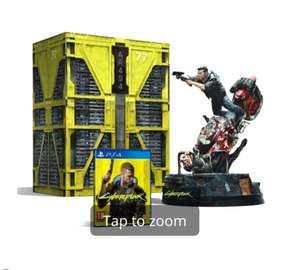 Cyberpunk Collectors Edition PS4 £104.98 delivered @ Game