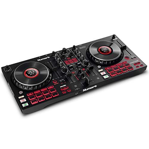 Numark Mixtrack Platinum FX – DJ Controller For Serato DJ with 4 Deck Control £168.65 @ Amazon