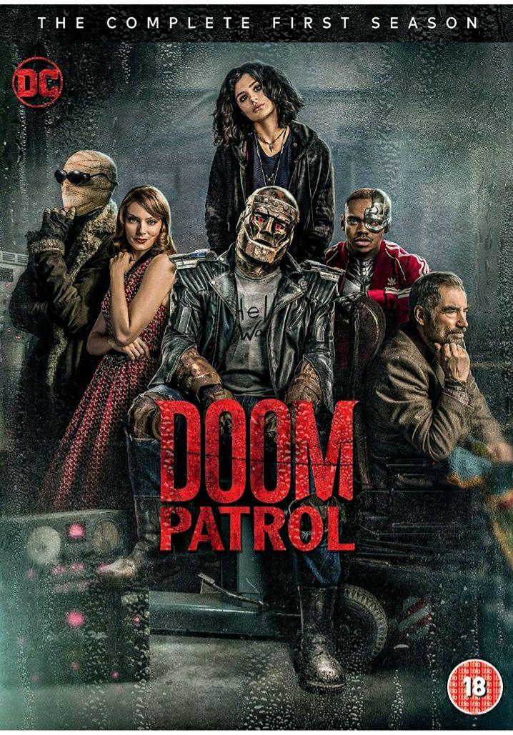 Doom Patrol: Season 1 [DVD] [2020] £3.29 + £2.99 Non Prime @ Amazon