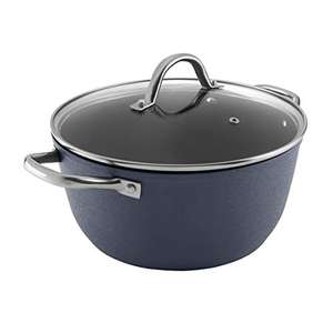 Tower Ice Diamond 26cm Casserole Pan with Black Diamond Coating, Oven/Dishwasher Safe - £11.53 delivered (+£4.49 Non Prime) @ Amazon