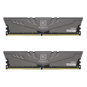 TEAMGROUP T-Create Expert overclocking 10L DDR4 16GB Kit (2 x 8GB) 3600MHz (PC4 28800) CL18 Desktop Memory £68.97 Amazon