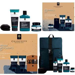 Champneys Men's Essential/Grooming kit - Now £7 & Rucksack gift set - £22.50 (Free Collection) @ Boots