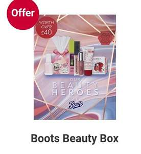 1/2 price on selected Sleek - Free gift when spend £12, Boots beauty Box £10 only + £1.50 Click and Collect @ Boots