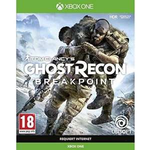Ghost Recon Breakpoint [Xbox One - French sleeves, game plays in English] £6.99 delivered @ 365games
