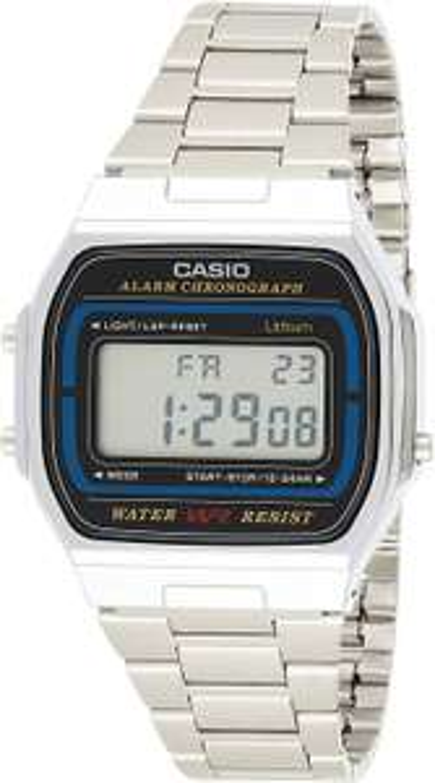 Casio A164WA-1VES Retro Stainless Steel Digital Watch £16.96 (+£4.49 Non Prime) @ Amazon