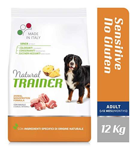 12Kg | Natural Trainer Sensitive No Gluten Medium & Maxi Adult Dry Dog Food - £12.08 Prime / +£4.49 non Prime @ Amazon