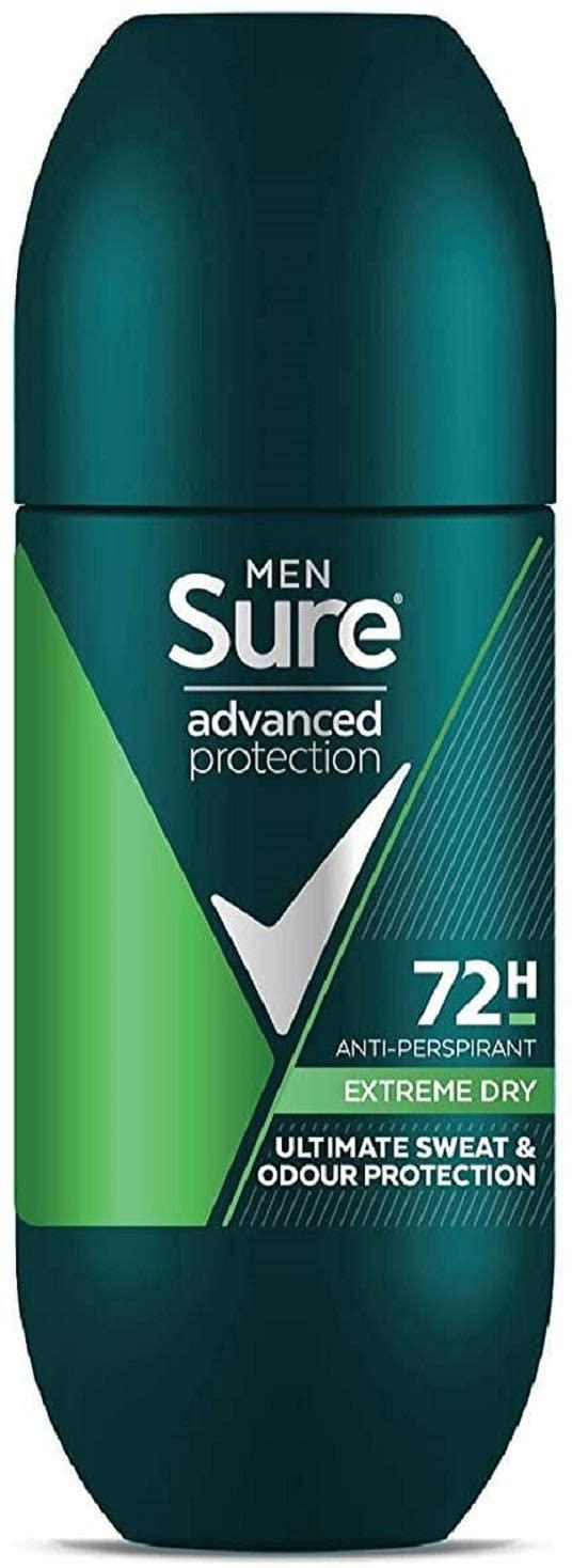 Sure Men Advanced Protection Extreme Dry 72h Anti-perspirant Roll On 100ml - 99p Prime / +£4.49 non Prime (84p/94p S&S) @ Amazon