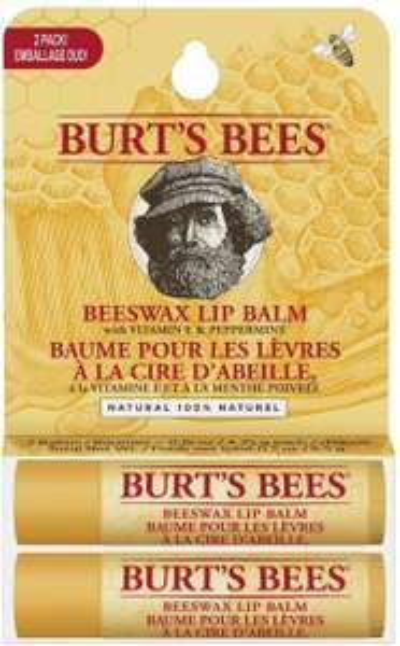 Burt's Bees Natural Moisturising Lip Balm Duo Value Pack - £4.35 Prime / +£4.49 non Prime 25% voucher and 10% s&s £2.82 @ Amazon