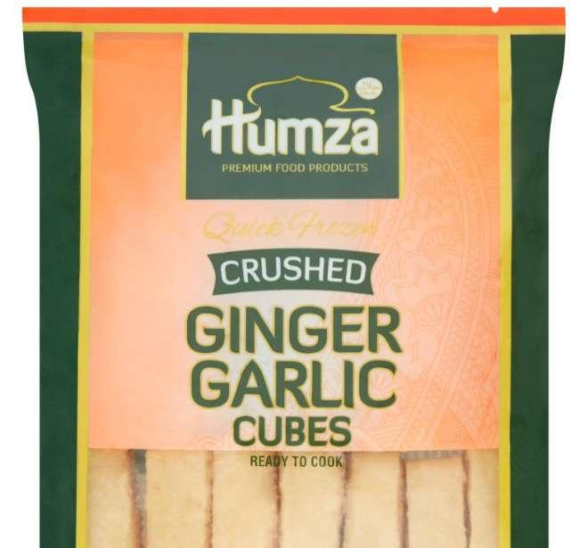 1kg Humza Frozen Crushed Garlic Ginger Cubes - 99p instore @ Farmfoods, Huddersfield
