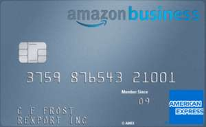 Get a £100 Amazon Gift Card with an Amazon Business American Express Card via Amazon