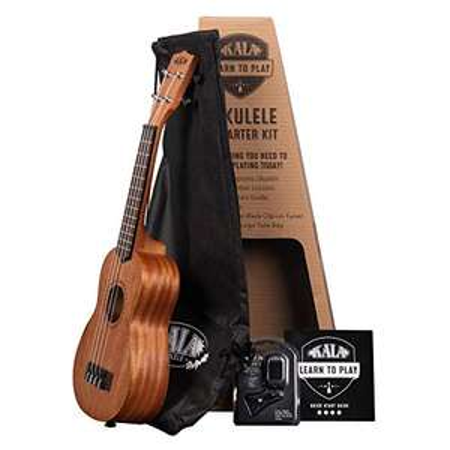 Kala Learn To Play Ukulele Soprano Starter Kit (KALA-LTP-S) - £32.14 @ Amazon