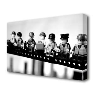 'Lego' Photographic Print on Canvas From £14.99 (£4.99 Delivery / Free over £40@) @ Wayfair