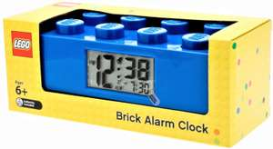 LEGO 9002151 Blue Brick Light Up Alarm Clock - £19.99 Prime / +£4.49 non Prime Sold by Mytoyfactory and Fulfilled by Amazon