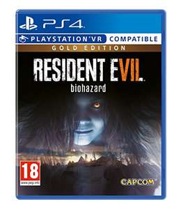 Resident Evil 7 Gold (PS4) £10.95 (+£2.99 Non-Prime) Delivered @ Amazon