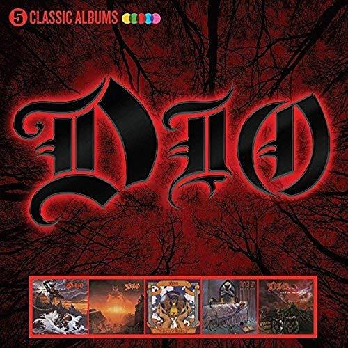 Dio: 5 Classic Albums (CD) - £11.59 Prime / +£2.99 non Prime @ Amazon