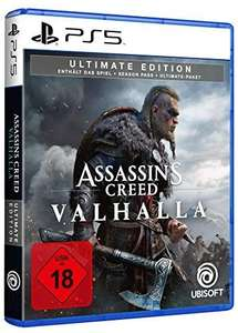 Assassins Creed Valhalla Ultimate Edition PS5 - £47.91 (UK Mainland) Sold by Amazon EU @ Amazon