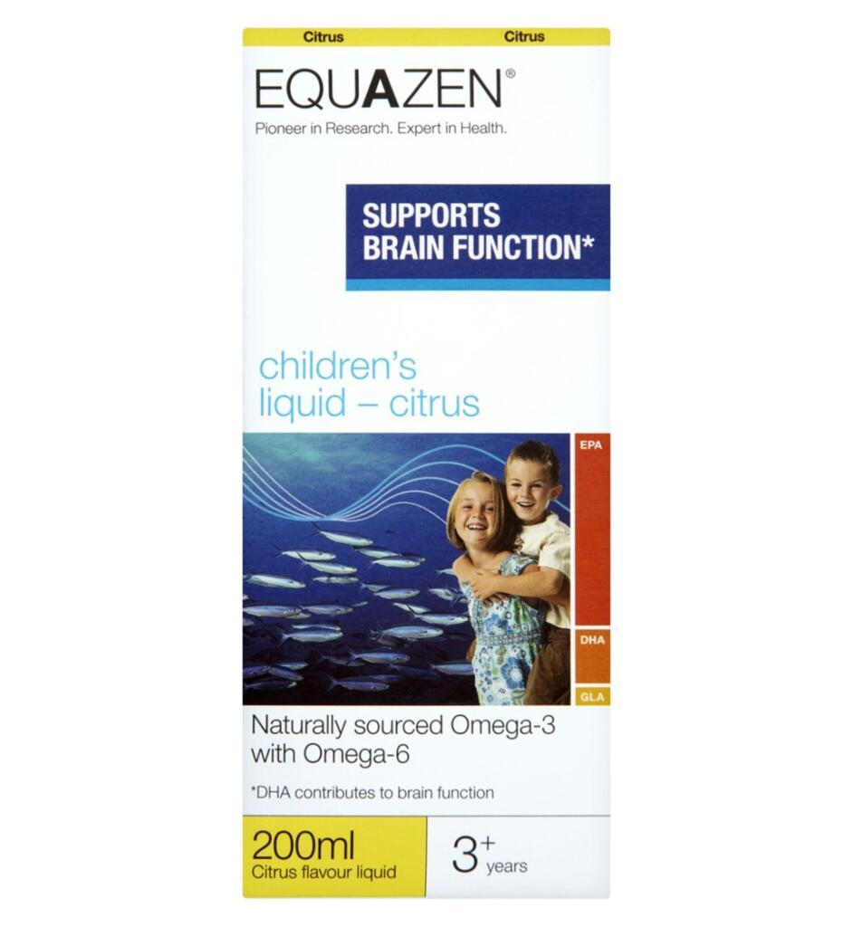 Equazen Children's Citrus Flavour Liquid 200ml £2 (Free Collection) @ Boots