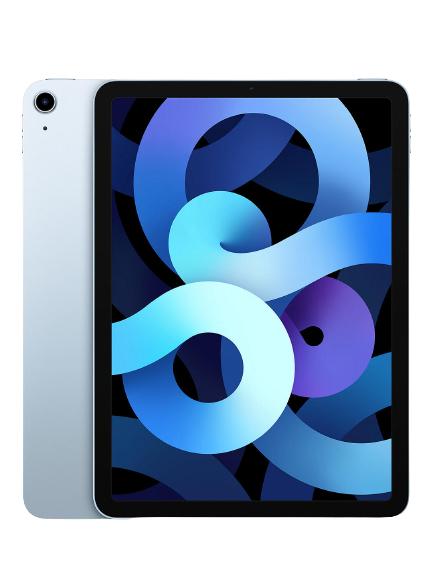 """2020 iPad Air 10.9"""", A14 Bionic Processor, iOS, Wi-Fi, 64GB, Sky Blue (Used grade B) £384 @ SMG"""