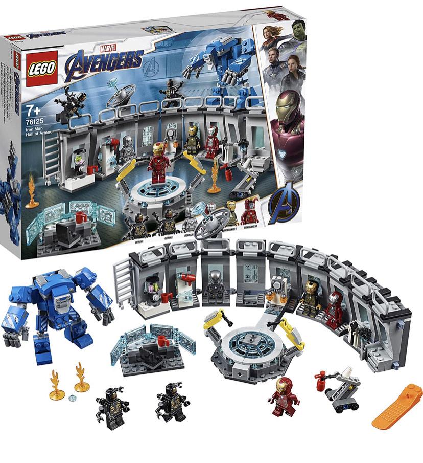 Lego Marvel Avengers Endgame - Iron Man Hall of Armour £41.30 @ Amazon