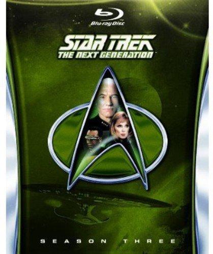 Star Trek: The Next Generation - Season 3 Blu-ray £3.94 (+£2.99 non-prime) @ Amazon