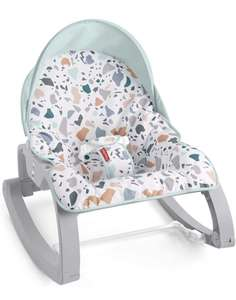 Fisher-Price GMD21 Deluxe Infant-to-Toddler Rocker £25.36 (back order) @ Amazon