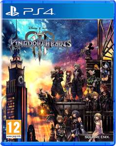 Kingdom Hearts 3 [PS4 - French sleeve, game plays in English] £5.48 delivered (+ £2.99 non-Prime) @ Amazon