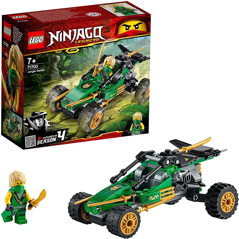 LEGO Ninjago 71700 Jungle Raider £4.49 / LEGO Disney 41165 Frozen 2 Canoe £8.99 @ Asda (Peterborough)