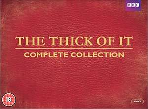 The Thick of It - Complete Collection DVD (8 discs) £6.15 (+£2.99 non-prime) @ Amazon