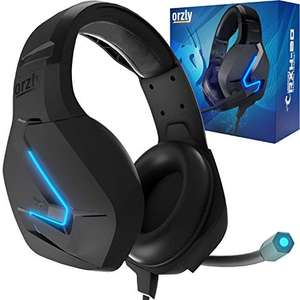 Orzly Gaming Headset for PC and Gaming Consoles - £16.99 Prime / +£4.49 non Prime Sold by Orzly and Fulfilled by Amazon