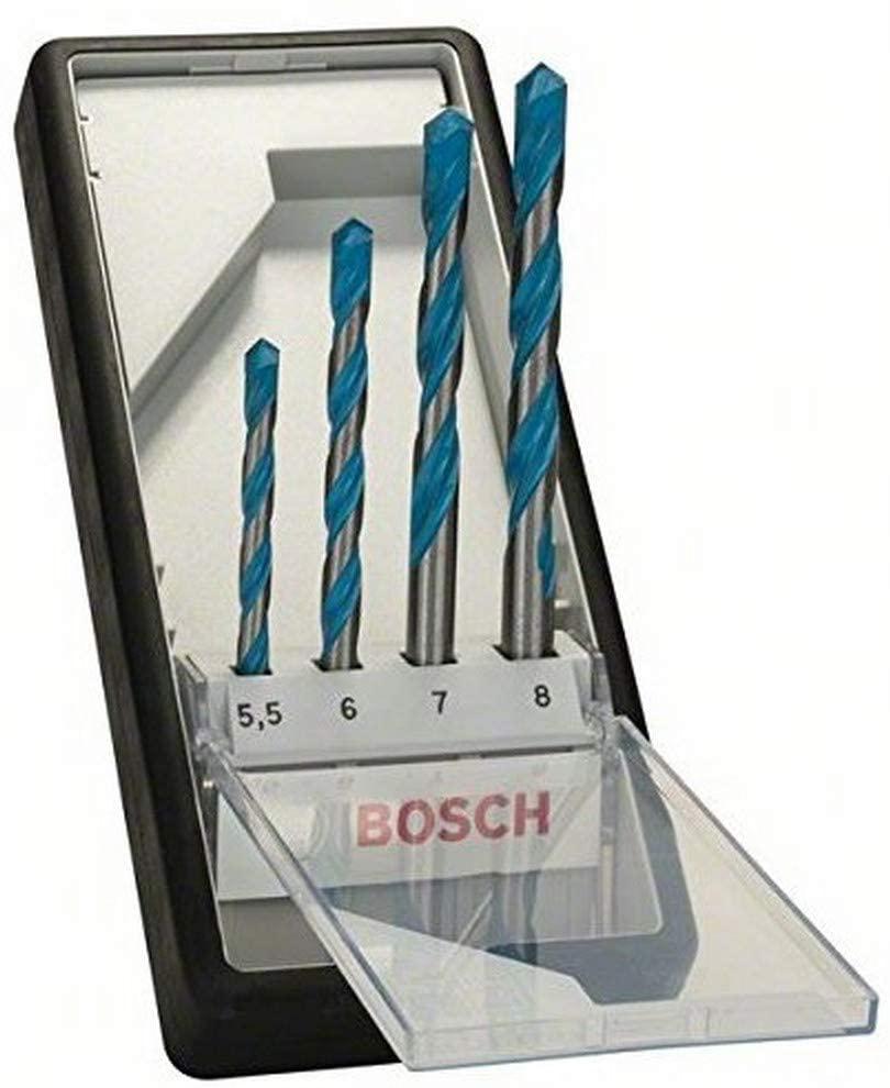 Bosch 2607010522 MCB Drill Bit Set, 4cm x 0.3cm x 34cm, Blue - £6.06 Prime / +£4.49 non Prime @ Amazon