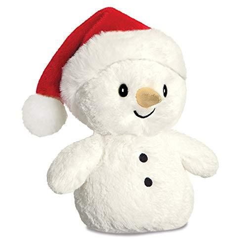 Aurora, Snowman, 8In, Soft Toy, White - £2.34 (+£4.49 non prime) @ Amazon