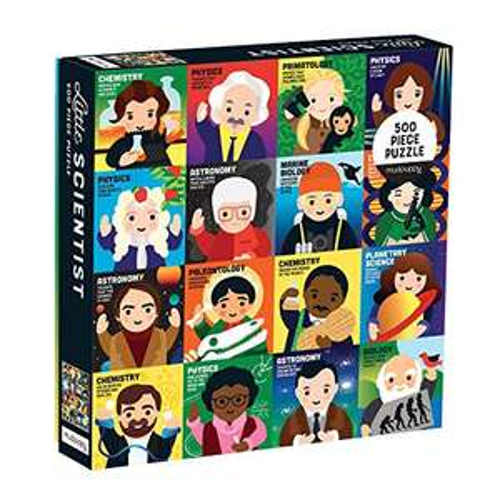 Mudpuppy Little Scientist 500 Piece Jigsaw Puzzle £3.14 (+£4.49 non-prime) @ Amazon
