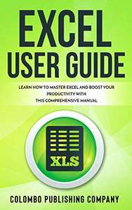 Excel User Guide Free Kindle Edition Ebook @ Amazon